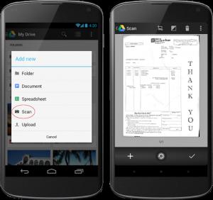 App-tips: Google Drives skannefunksjon