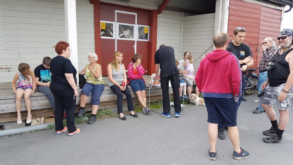 Sommertur dag 4: Event, caching og konsert i Kongsberg