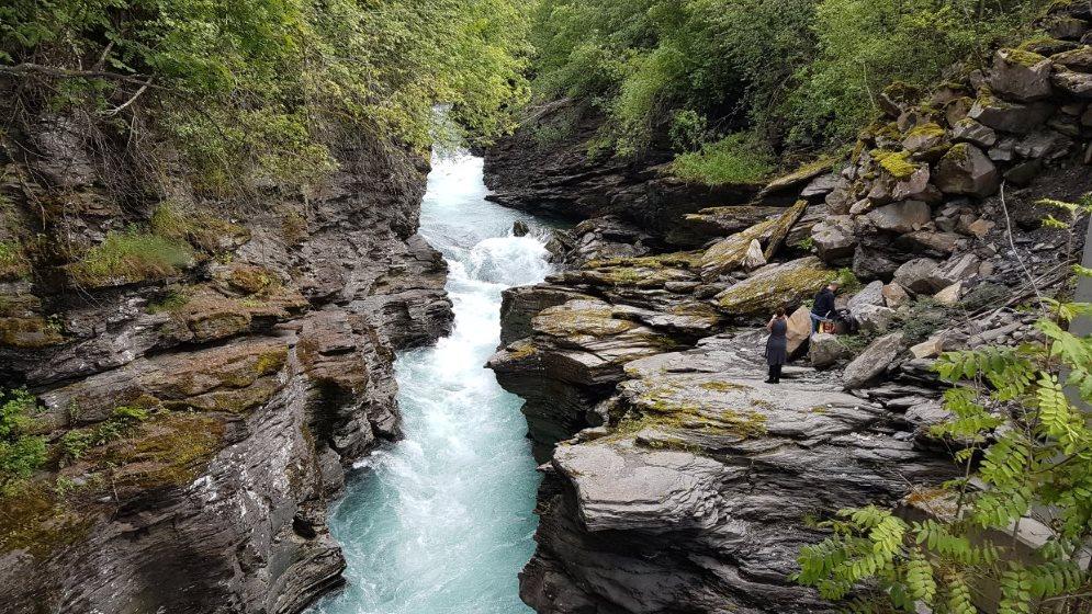 Sommertur dag 6: Caching i Voss