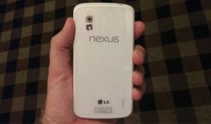 Nå kommer det en hvit Nexus 4