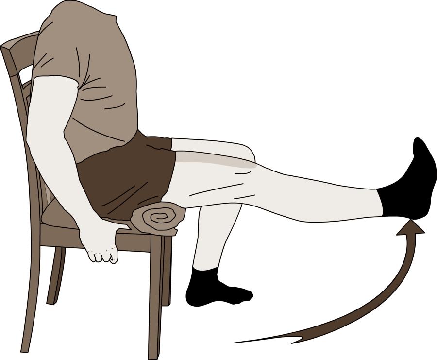 Kneøvelser for stabilitet og styrke