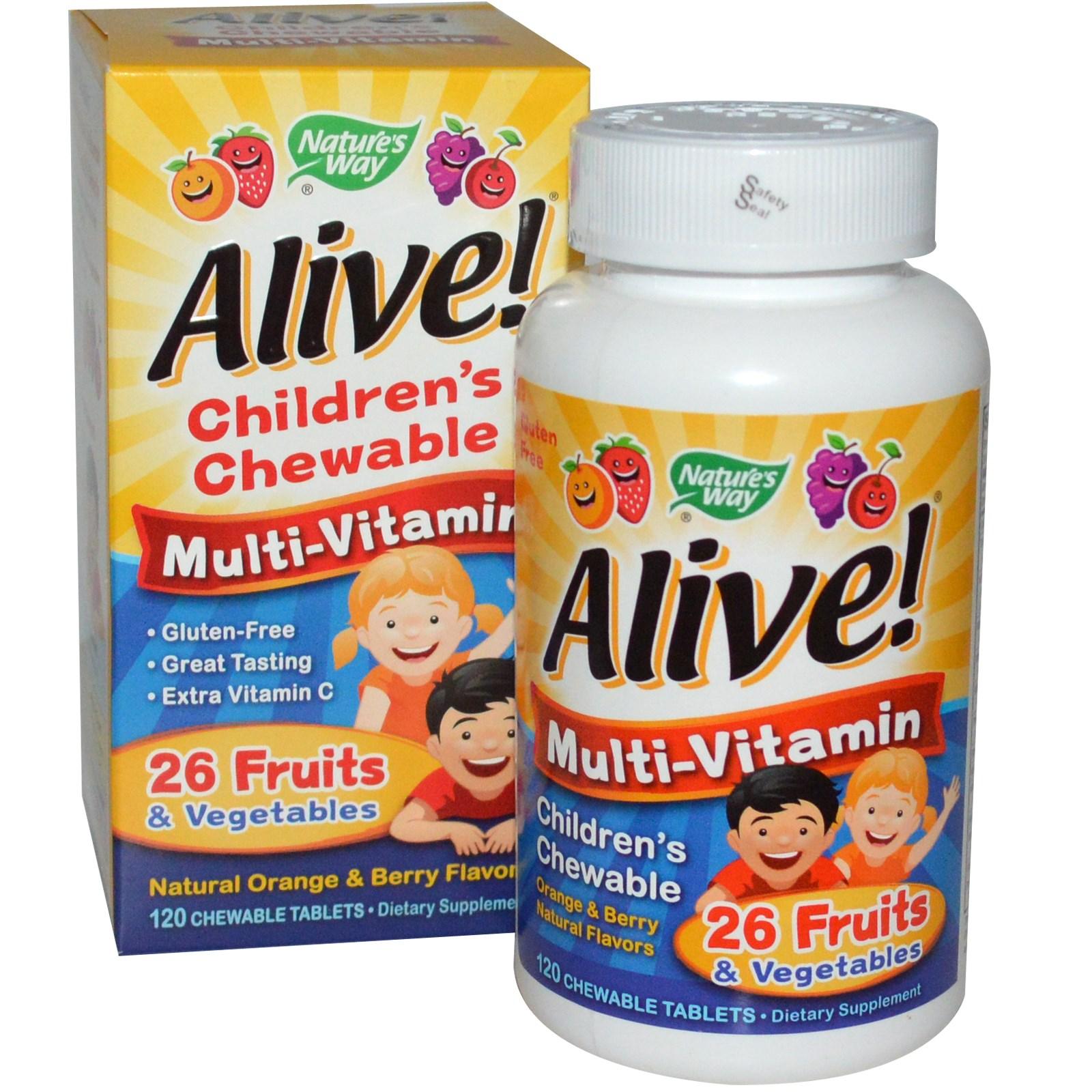 Knallbra multivitamin for barn!