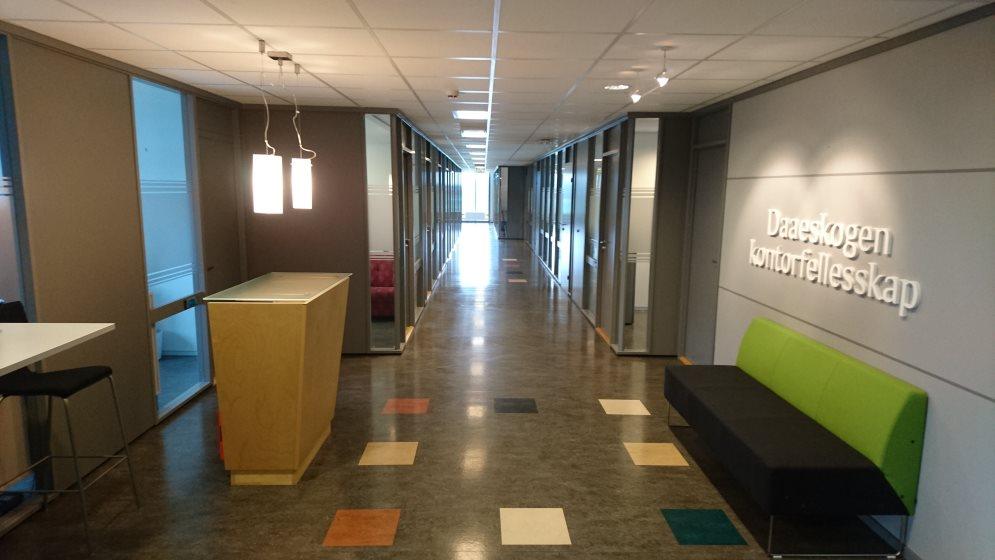 Ny jobb og nytt kontor!