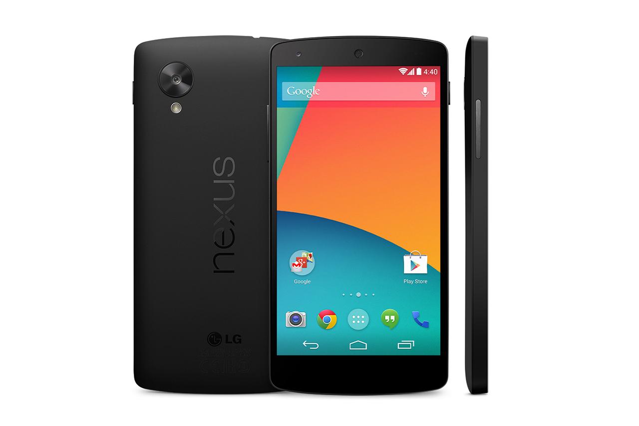 Fra Nexus 4 til Nexus 5