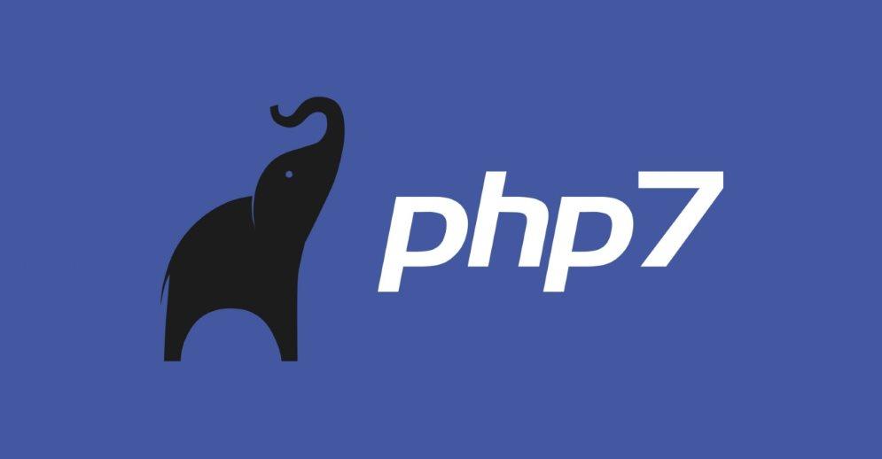 PHP 7 på plass