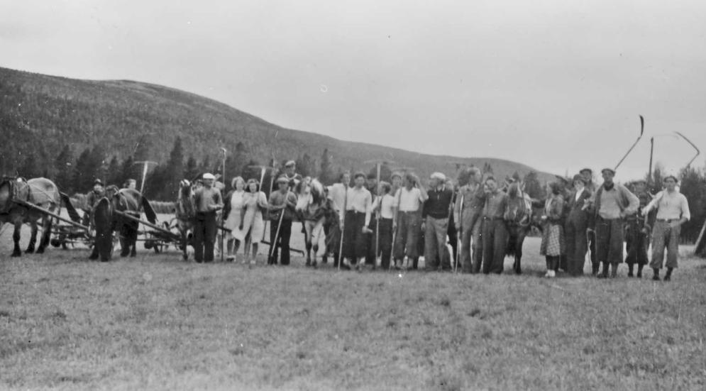 Mai 1940: Dugnadsånden blir frigjort